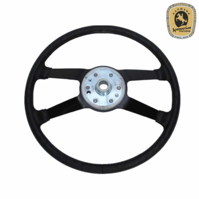 Porsche 914 Reproduction Leather Steering Wheel 380mm Back