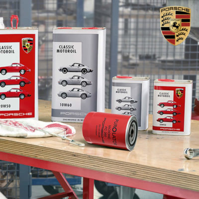 Porsche Classic Motoroil Bench