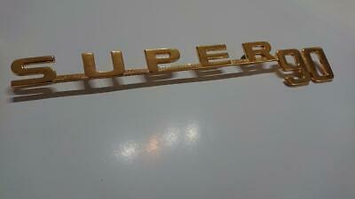 Porsche 356B T5 Super 90 emblem (Gold)