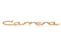 Porsche 356 Carrera emblem (Small/ Gold)