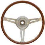 Porsche 904 Les Leston style steering wheel 375mm machine turned