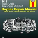 Porsche 911 Haynes workshop manual 1965-89 all models