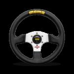 Porsche Momo steering wheel competition Evo Black leather 320mm.