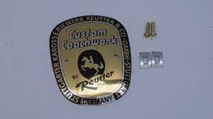Large Reutter badge 356A & 356B T5