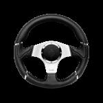 Porsche Momo steering wheel Millenium black leather 320mm.