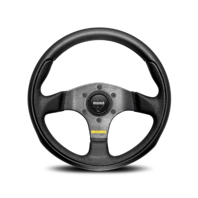 Porsche Momo steering wheel Team black leather 300mm