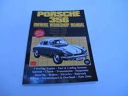 Porsche 356 Owners workshop manual A/B/C Models 147 pages.