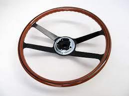 Porsche 911/912/914 Reproduction wood rim steering wheel 400mm