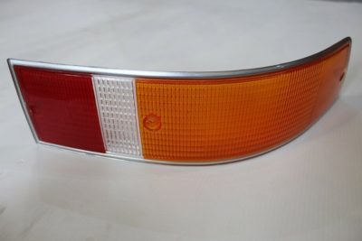 Tail light lens red/Amber (Euro) RHS for 911 69-72 912 69 only