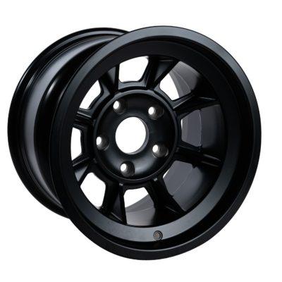 "Group 4 Wheel PAG1510P Satin black 15 x 10""."