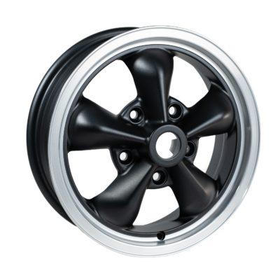 """TT1550 Grey/Black/Cut Dish 15 x 5""""."""