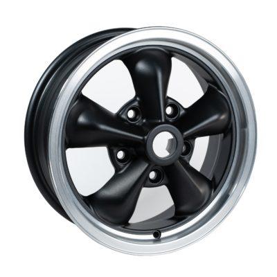 """TT1555 Grey/Black/Cut Dish 15 x 5.5""""."""