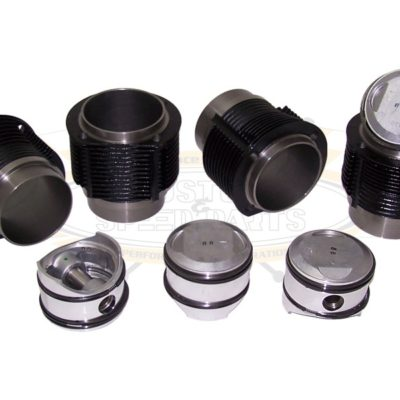 Complete sets for an engine comprising: 4 pistons complete with rings - piston pin and circlips - and 4 cylinders