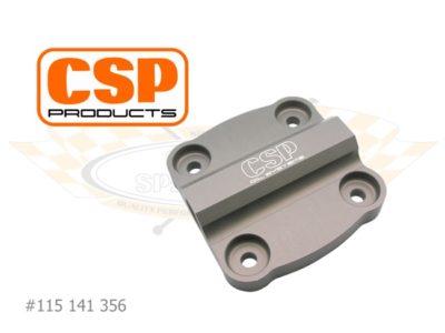 CSP Oil Pump Cover Porsche 356. 3/8 NPT Fitting