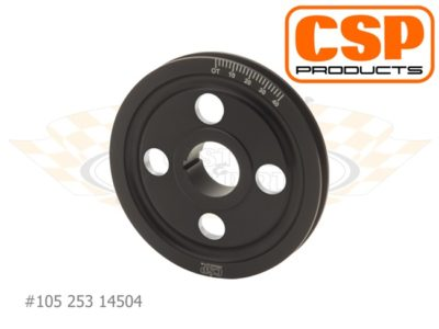 Crank Pulley Porsche 356/912 CSP 145mm 4-Hole