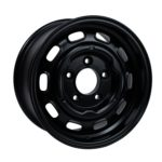 """Product Details PCD: 5 x 130 OFFSET: ET32 WEIGHT: 7kg TÜV: To follow Aluminium version of the classic 15 x 5.5"""" steel wheel, with all the looks and then some, with the extra dish, in 7"""", at a fraction of the weight. The trick offset allows for the use on the rear of a post '69 911/912 with up to a 225 section tyre without the need of a spacer. It is advised not to run hub caps, being steel, they will mark the softer aluminium."""