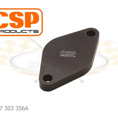 CSP Fuel Pump Block Off Plate 356/912 Aluminum