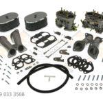 Carburetor Kit Weber 40IDF for Porsche 356/912 Standard Air Cleaner