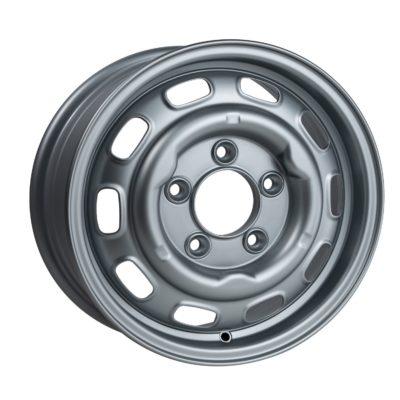 """Group 4 wheel LMZ1550 Satin Silver 15 x 5"""". LMZ1550 Satin Silver 15 x 5""""."""