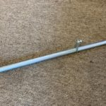 Carb Crossbar linkage 1964-65 911 solex fitment in silver, another KK Exclusive