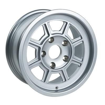 "Group 4 wheel PAG1570P Satin Silver 15 x 7"""