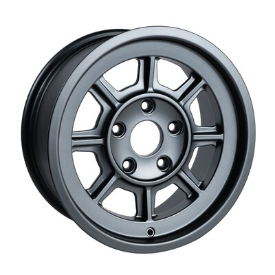 """PAG1670 Satin Anthracite 16 x 7""""."""