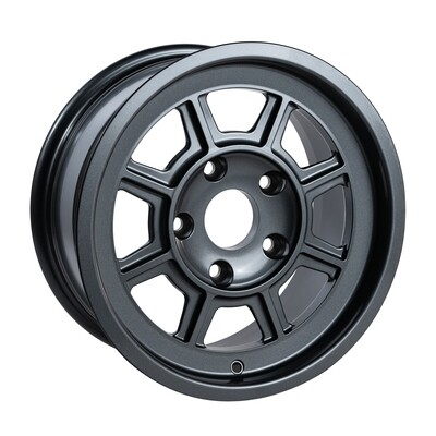 """Group 4 wheel PAG1570P Satin Anthracite 15 x 7"""""""