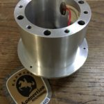 An excellent quality light weight aluminium 911R style hub kit.