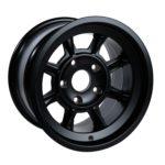 "Group 4 Wheel PAG1590P Satin black 15 x 9""."