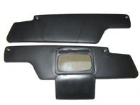 Sun visor pair , with mirror LHD Porsche 914 1.7L-2.0L 01/1969-02/1976