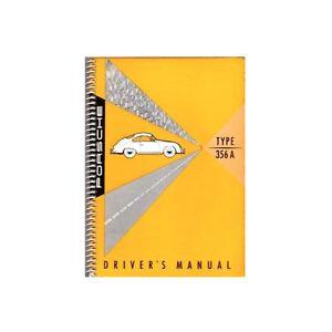 Porsche 356A Owners manual