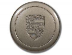 Platinum Metallic Wheel Hub Center Cap Fits 911 1974-89 930.