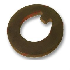 Front outer wheel bearing thrust washer, 2 required, fits 911, 1974-89.