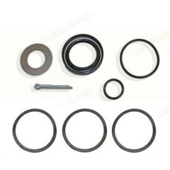 Rear Axle Seal Kit for for cars with drum brakes. 2 required per car. Fits 356 356A and 356B
