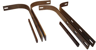 Front Bumper Bracket Set. Right and Left. Fits 356, 356A.