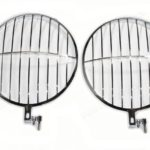 Headlight Stone Guard Grille, Speedster Style Fits 356 and Early 911 912 1965-1967