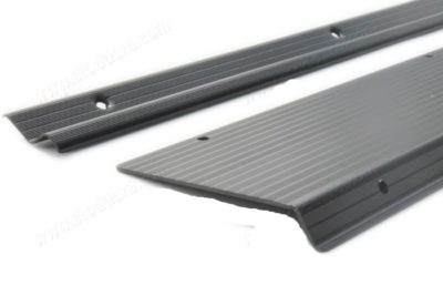 Threshold Set, Black Anodized for 914. Includes two large and two small strips.